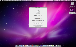Mac OS X Snow Leopard Screen Shot